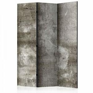 artgeist Paravent Cold Concrete [Room Dividers] grau Gr. 135 x 172